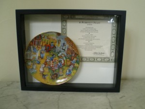Plate Shadow Box Frame