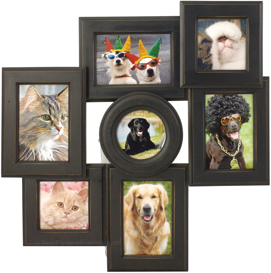collage picture frames with added functionality - Multiple Photos In One Frame