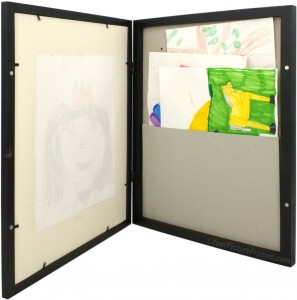 display your child 39 s artwork in this kids art picture frame. Black Bedroom Furniture Sets. Home Design Ideas