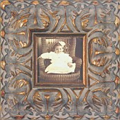 Gianna Ornate Gold Leaf Picture Frame