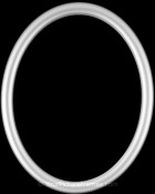 Gilda Silver Oval Picture Frame
