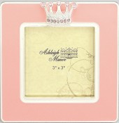 Pink Princess Jeweled Picture Frame