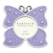 Butterfly Frame in Solid Pewter