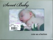 Silver Metal Sweet Baby Picture Frame