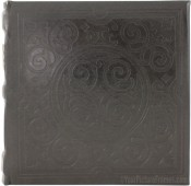 Impressions Embossed Black Photo Album