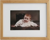 Shasta Natural Matted Bamboo Picture Frame
