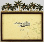 Palm Tree Oasis Tropical Picture Frame