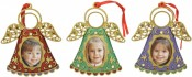 Christmas Angel Photo Frame Ornaments