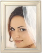 Tailored Silver Metal Picture Frame