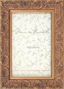 Andrea Gold Leaf Picture Frame