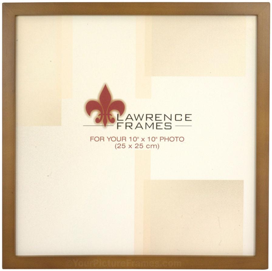 Simple Nutmeg Wood Scrapbook Picture Frame