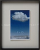 Cirrus Black Floating Picture Frame