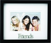 Friends Picture Frame with 3 Dimensional Wording