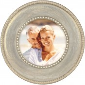 Montmartre Pearl Round Picture Frame