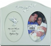 Baptism Day Religious Picture Frame