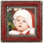 Tree Charm Holiday Picture Frame