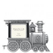 Engine Train Frame in Solid Pewter