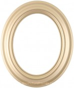 Naomi Gold Oval Picture Frame