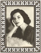 Filigree Jeweled Vintage Picture Frame
