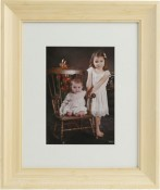 Sierra Natural Matted Bamboo Picture Frame
