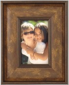 Dania Bronze Wood Picture Frame