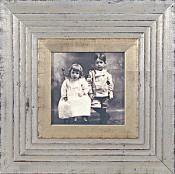 Petra Silver Leaf Picture Frame