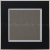 Modern Black Square Picture Frame