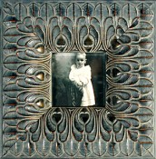 Vitalia Black Ornate Picture Frame