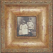 Albia Antique Wood Picture Frame