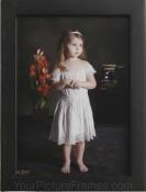 Shasta Rubberwood Black Picture Frame