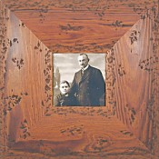 Kalia Rustic Wood Picture Frame