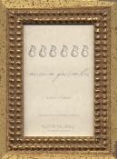 Oriana Gold Leaf Picture Frame