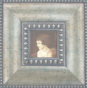 Orsola Silver Leaf Wood Picture Frame