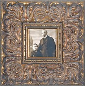 Adriana Ornate Gold Leaf Picture Frame