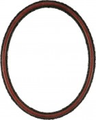 Sadie Vintage Cherry Oval Picture Frame