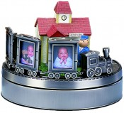 Train Musical Picture Frame
