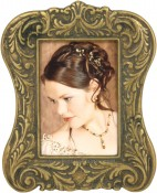 Vintage Antique Brass Picture Frame