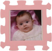 Pink Kids Foam Picture Frame