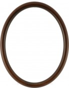 Gilda Rosewood Oval Picture Frame