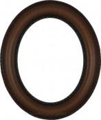Stella Vintage Walnut Oval Picture Frame
