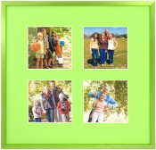 Cyber Green Collage Picture Frame