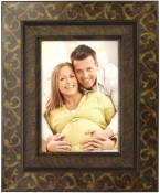 Bronze Scroll Decorative Picture Frame