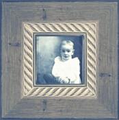 Traviata Silver Leaf Picture Frame