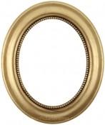 Laurel Gold Leaf Oval Picture Frame