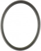 Laini Black Silver Oval Picture Frame