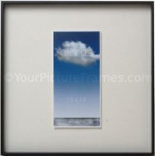 Cirrus Black Square Picture Frame