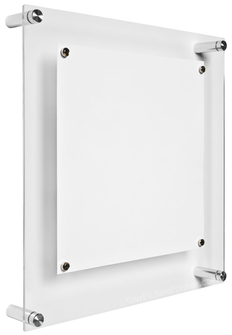 Acrylic Box To Hang On Wall : Square wall hanging acrylic picture frame