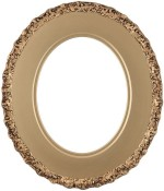 Ella Gold Spray Oval Picture Frame
