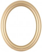 Rissa Gold Oval Picture Frame