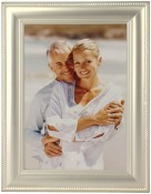 Classic Rope Satin Silver Metal Picture Frame